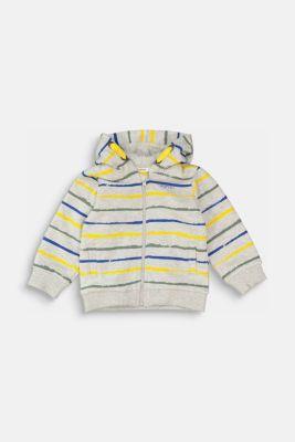 Sweatshirts cardigan, MEDIUM GREY, detail