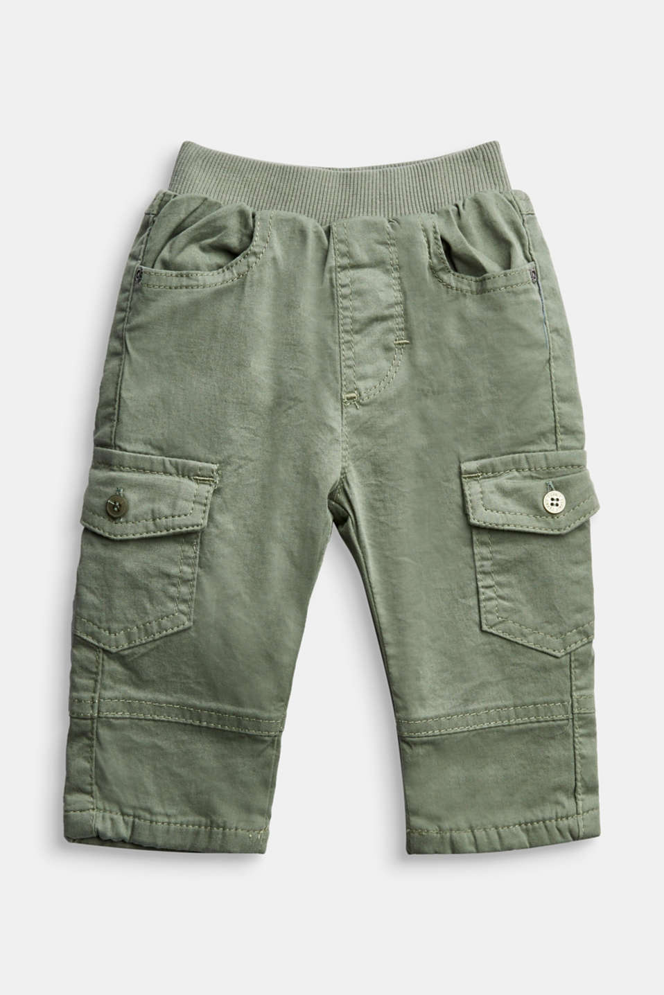 Esprit - Cargo trousers containing organic cotton