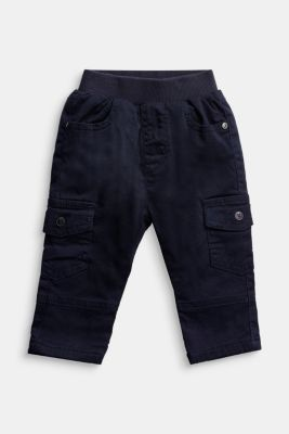 Cargo trousers containing organic cotton, NAVY, detail