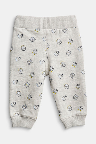 Tracksuit bottoms in 100% cotton