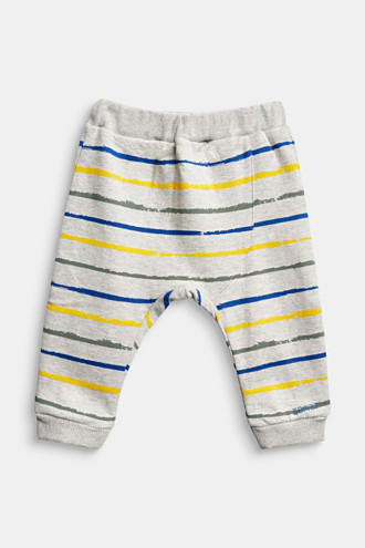 Tracksuit bottoms in 100% organic cotton