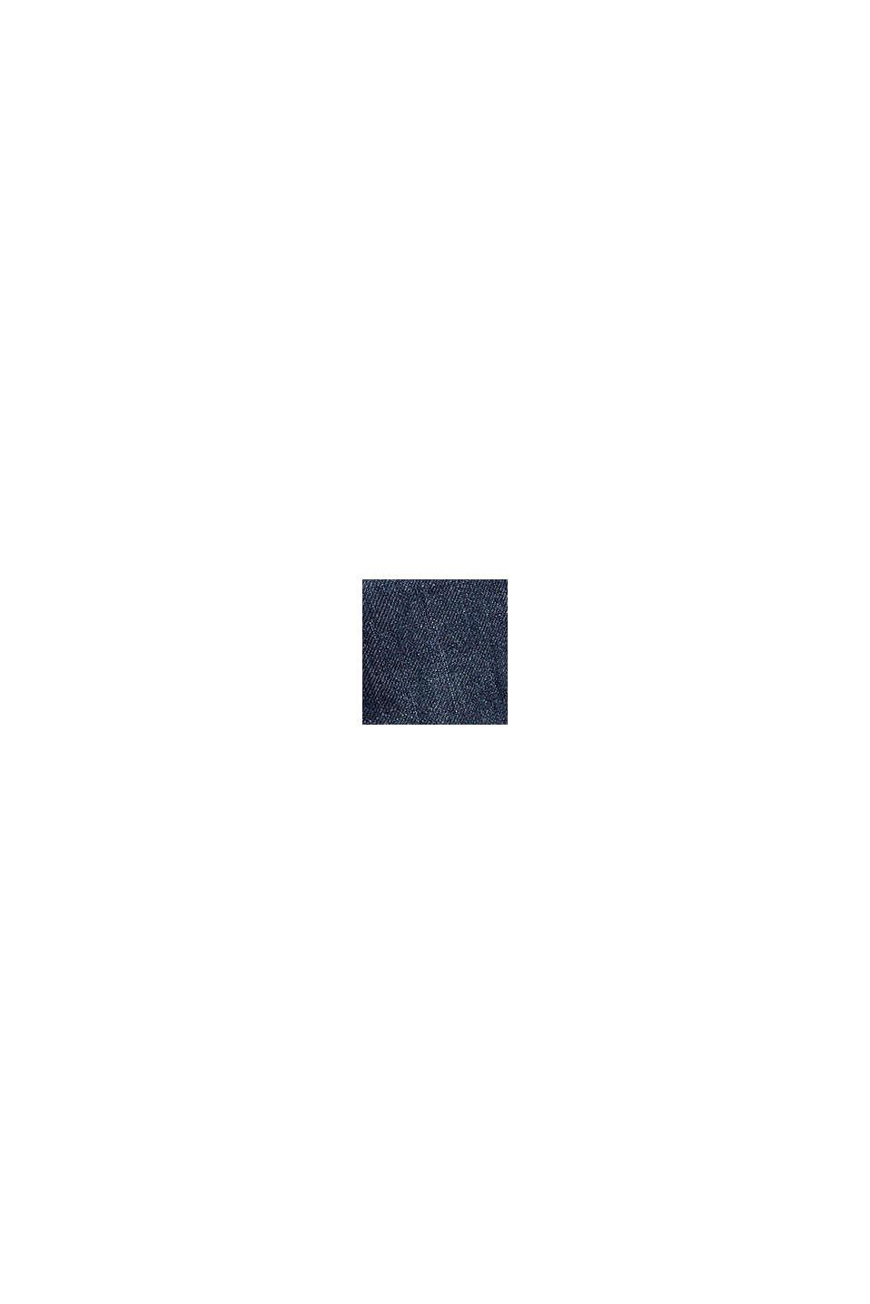 Jeans met verstelbare band en jersey voering, BLUE MEDIUM WASHED, swatch