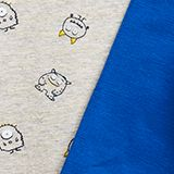 2-pack of bodies made of organic cotton with stretch, BRIGHT BLUE, swatch