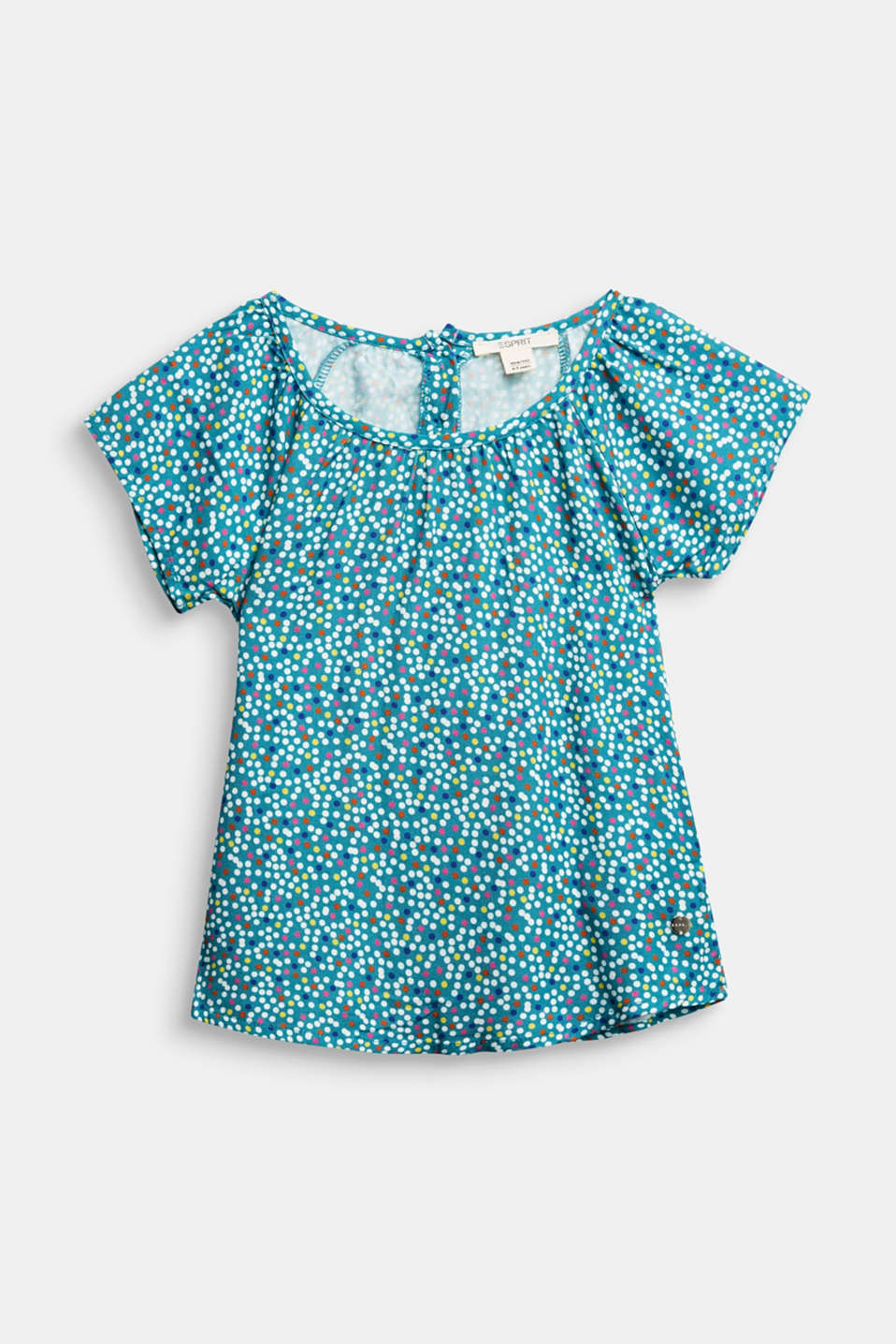 Esprit - Blouse top with a polka dot print