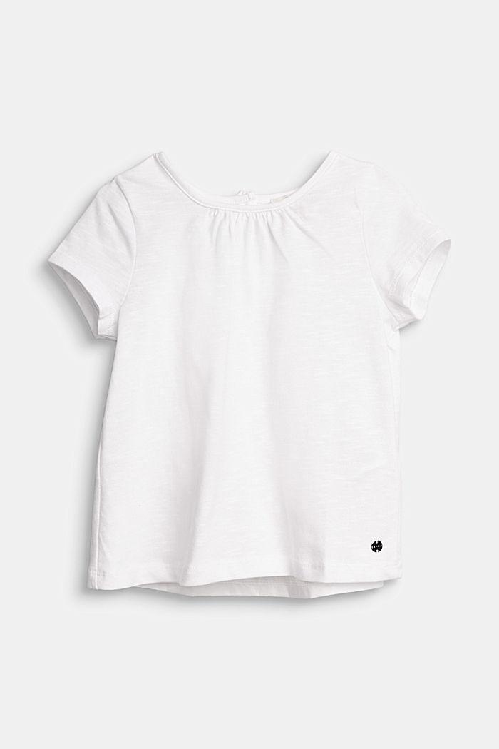 Bluse aus Jersey/Stoff, 100% Baumwolle