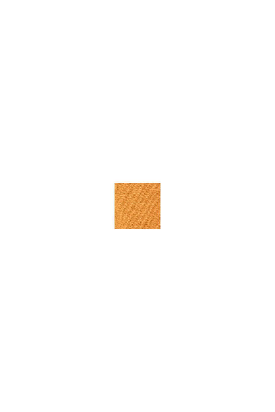Hoodie mit Logo-Print, 100% Baumwolle, RUST BROWN, swatch
