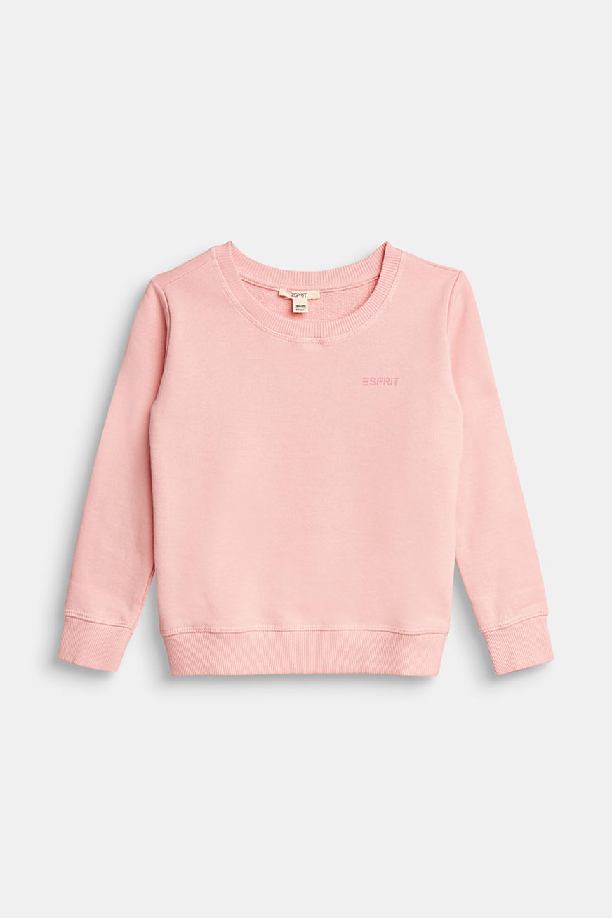Basic sweatshirt made of 100% cotton