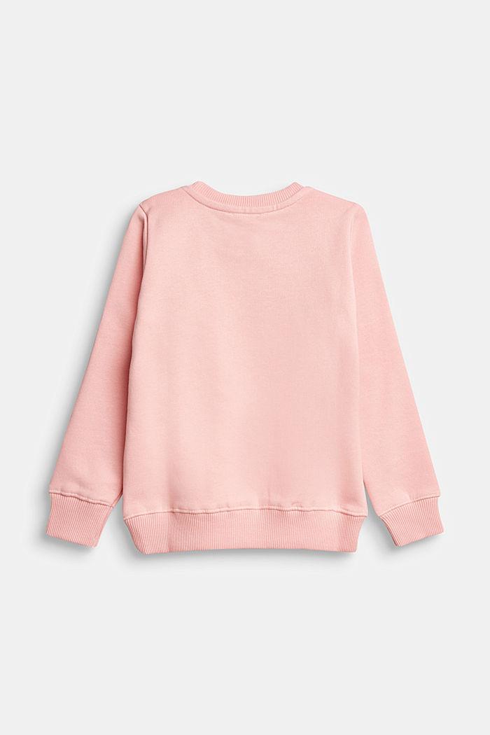 Sweatshirt with reversible sequins, LIGHT PINK, detail image number 1