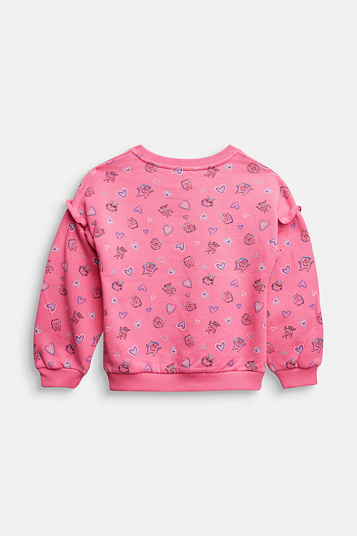 All-over print sweatshirt, 100% cotton