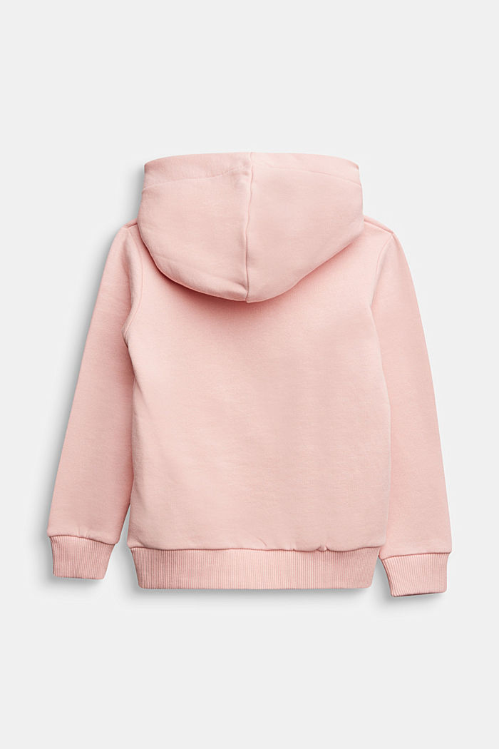 Sweatshirt with a print or reversible sequins, LIGHT PINK, detail image number 1