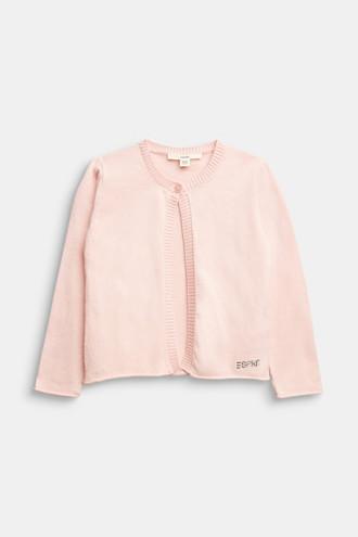 Basic cardigan in 100% cotton