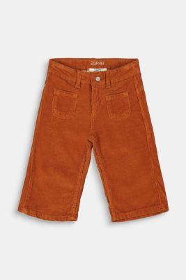 Trousers, RUST BROWN, detail