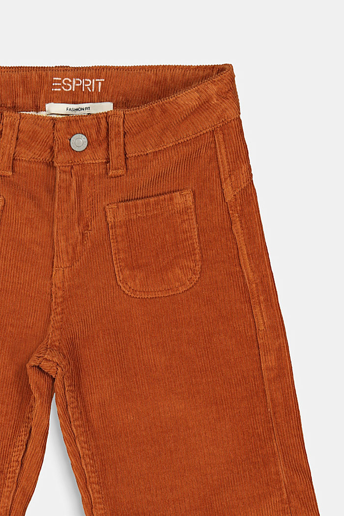 Trousers, RUST BROWN, detail image number 2