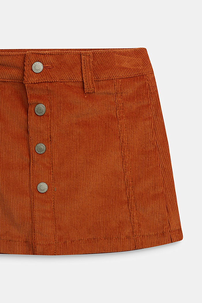 Fashion Skirt, RUST BROWN, detail image number 1