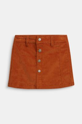 Skirts woven, RUST BROWN, detail