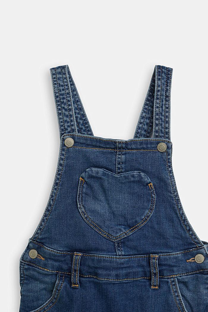 Denim Skirt, BLUE MEDIUM WASHED, detail image number 2