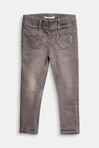 Jeggings with heart pockets
