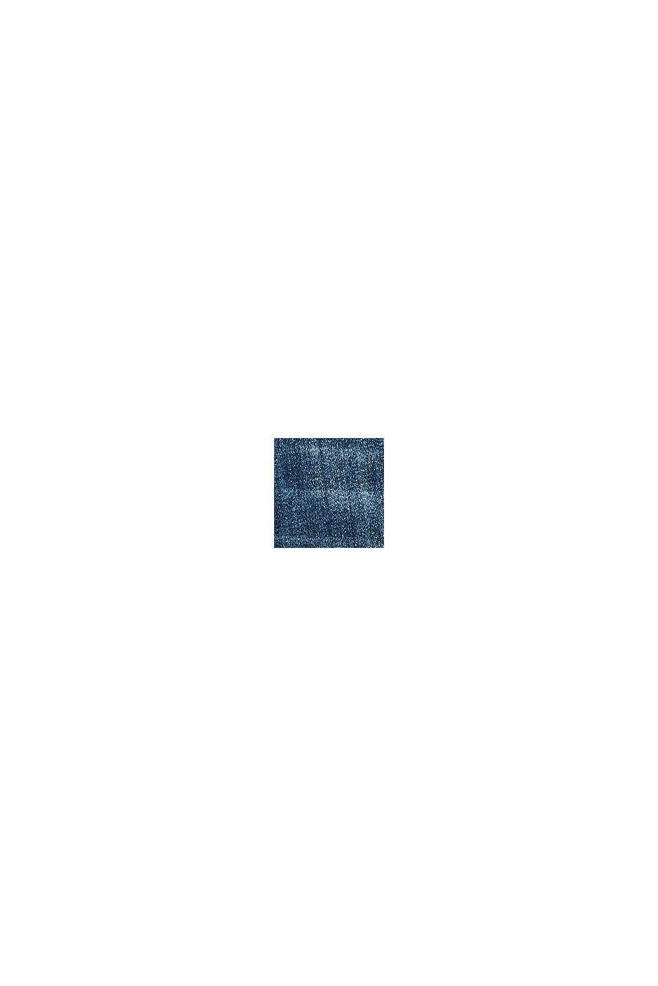 Stretchjeans med banddetalj, BLUE MEDIUM WASHED, swatch