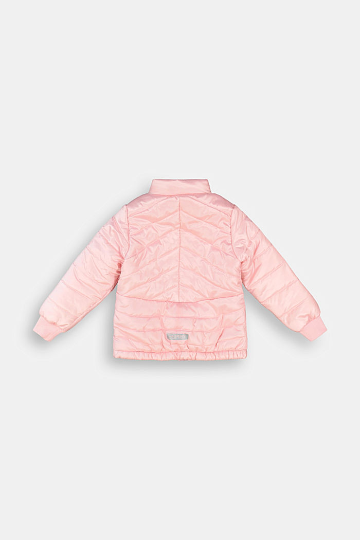 Padded quilted jacket, LIGHT PINK, detail image number 1