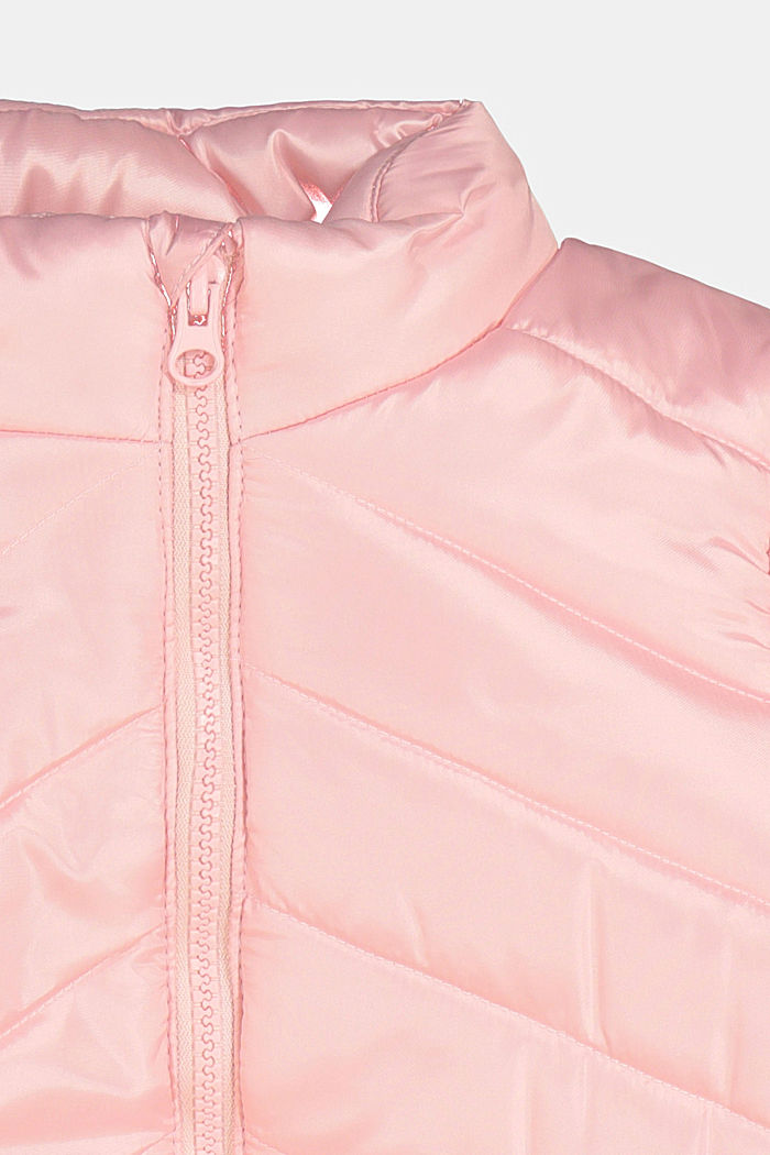 Padded quilted jacket, LIGHT PINK, detail image number 2
