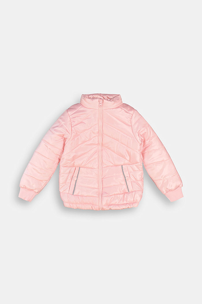 Padded quilted jacket, LIGHT PINK, detail image number 0