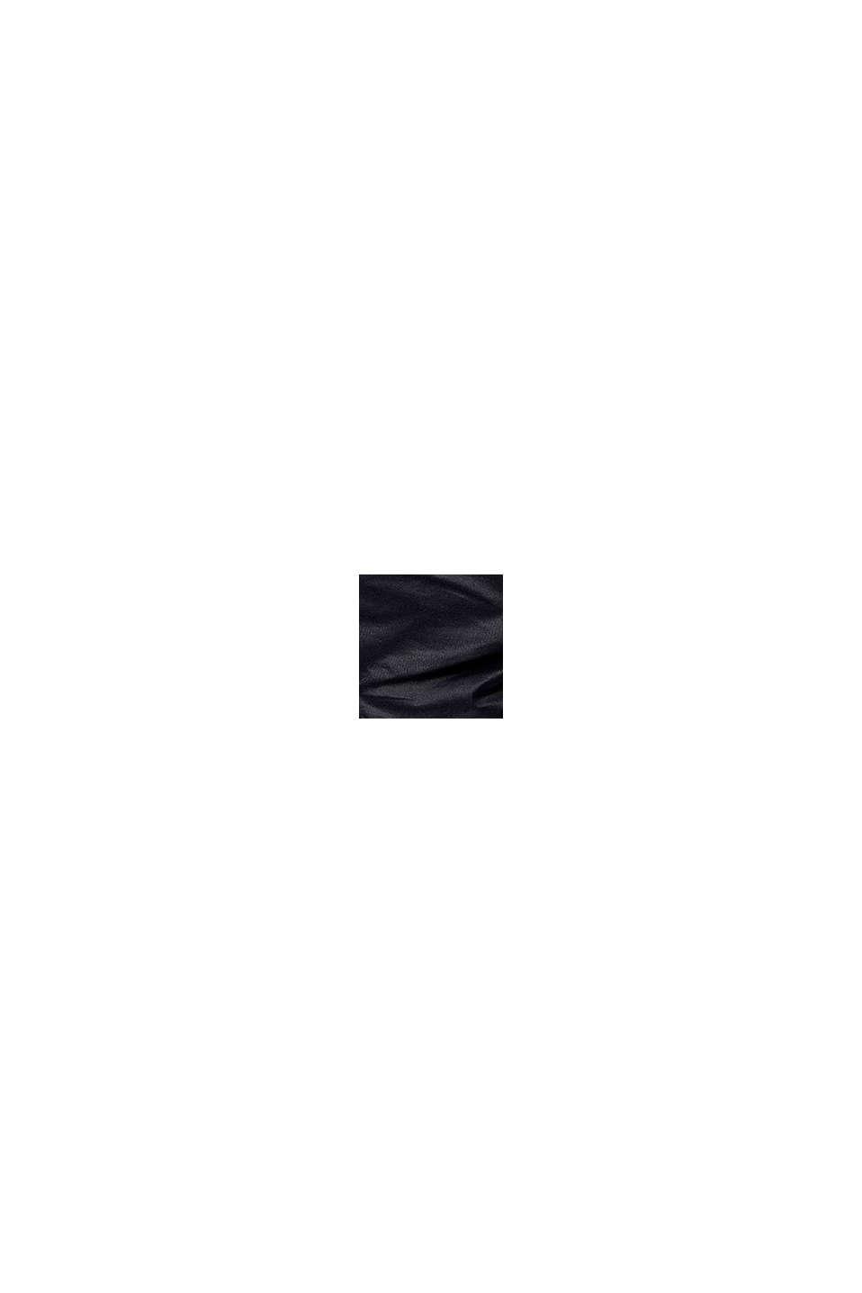 Veste matelassée enduite à doublure en peluche DuPont™-Sorona®, NAVY, swatch