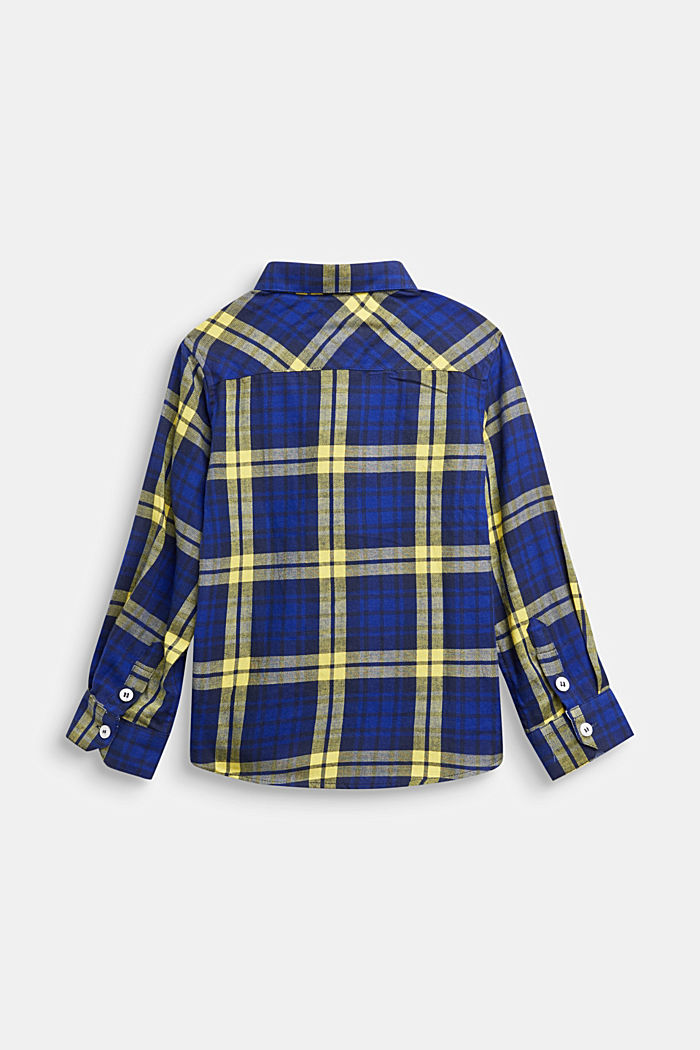 Check flannel shirt, 100% cotton
