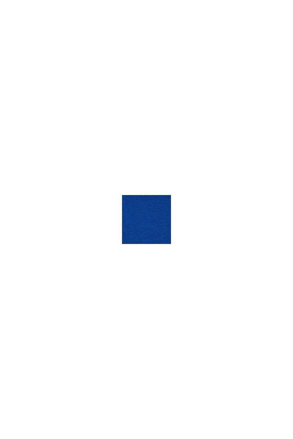 Hoodie aus 100% Baumwolle, BRIGHT BLUE, swatch