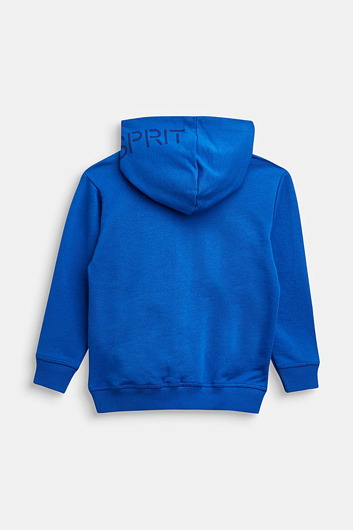 Sweatshirts cardigan, BRIGHT BLUE, detail image number 1