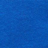Sweatshirt cardigan in 100% cotton, BRIGHT BLUE, swatch