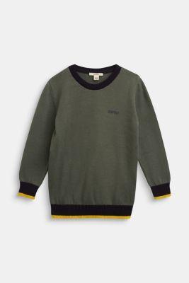 Sweaters, DUSTY GREEN, detail