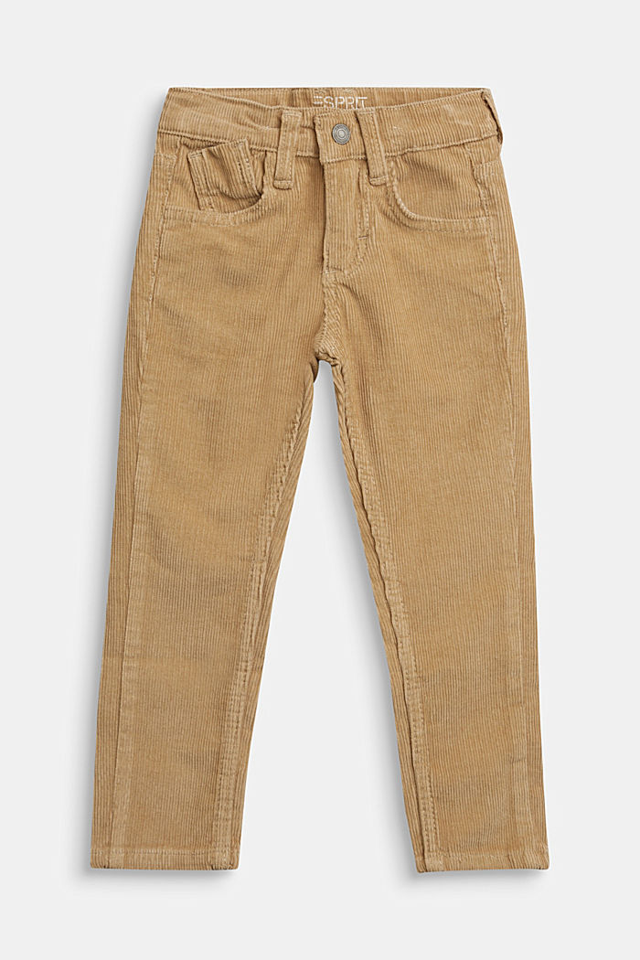 Trousers, BEIGE, overview