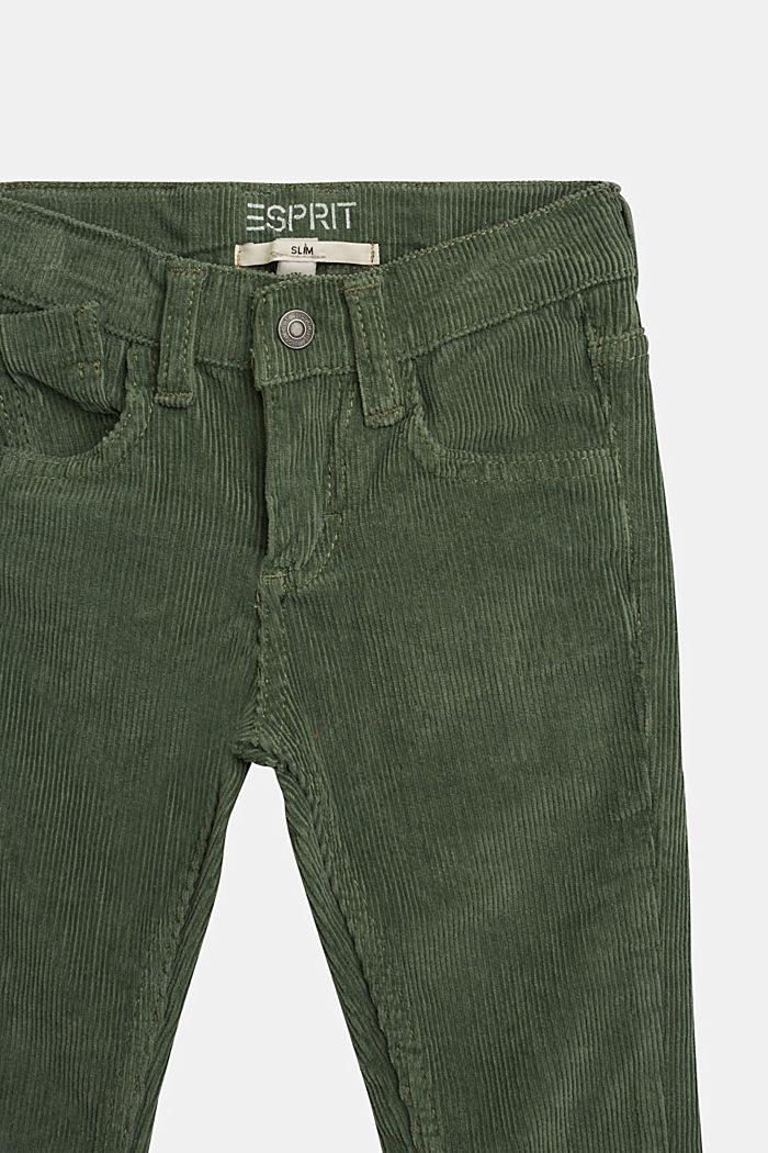 Pants woven, DUSTY GREEN, detail image number 1