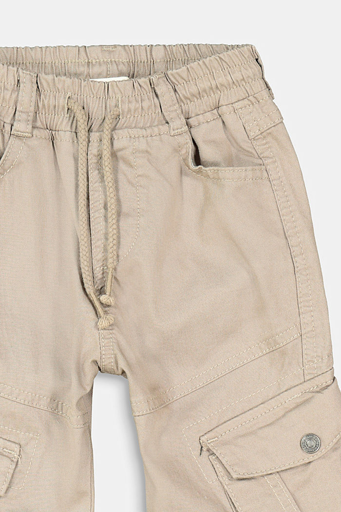 Pull-on cargo trousers, TAUPE, detail image number 1
