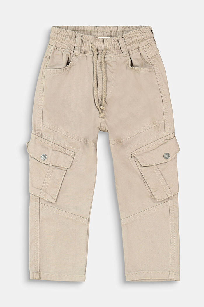Pull-on cargo trousers