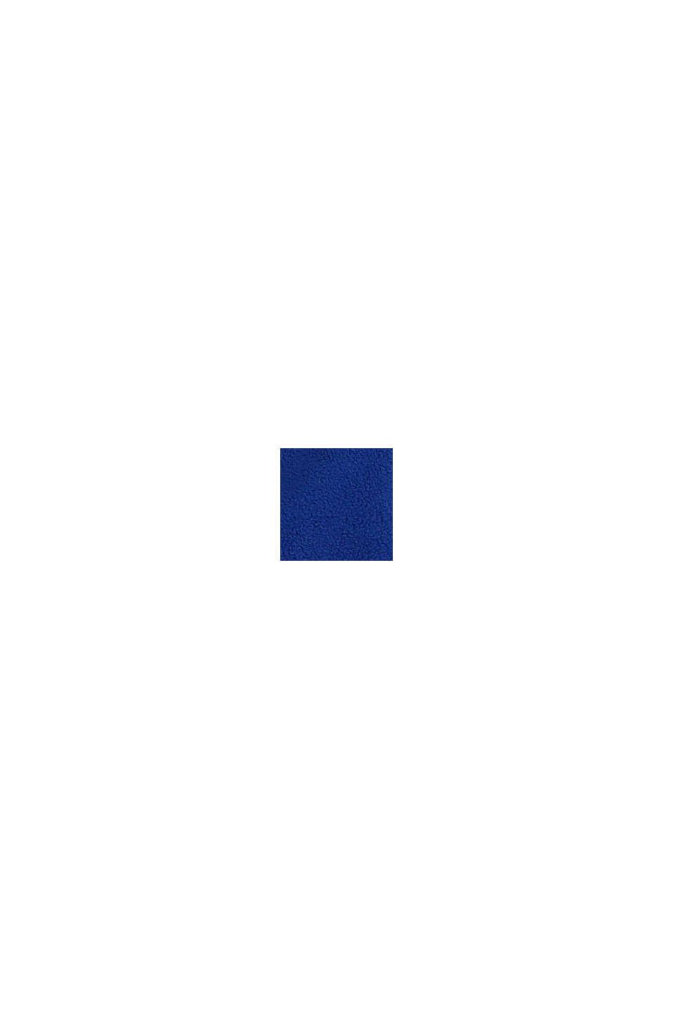 Fleecejacka med monstertryck, BRIGHT BLUE, swatch