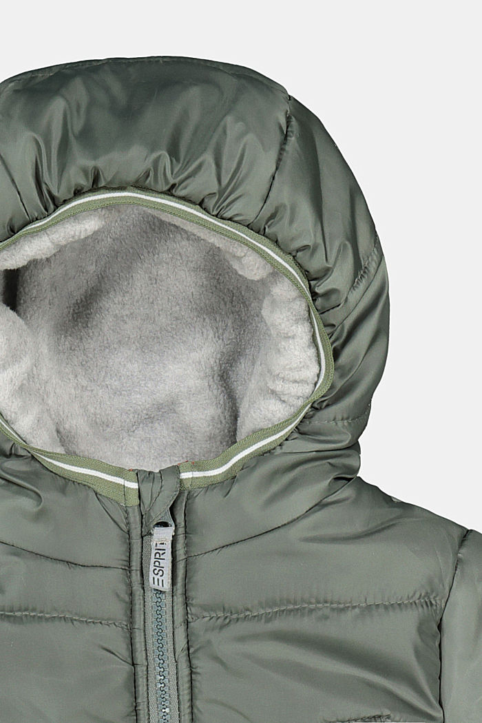 Wattierter Steppjacke mit Feecefutter, DUSTY GREEN, detail image number 2