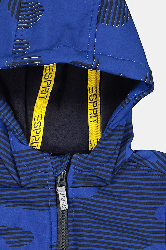 Softshell-Jacke mit Print, BRIGHT BLUE, detail image number 2