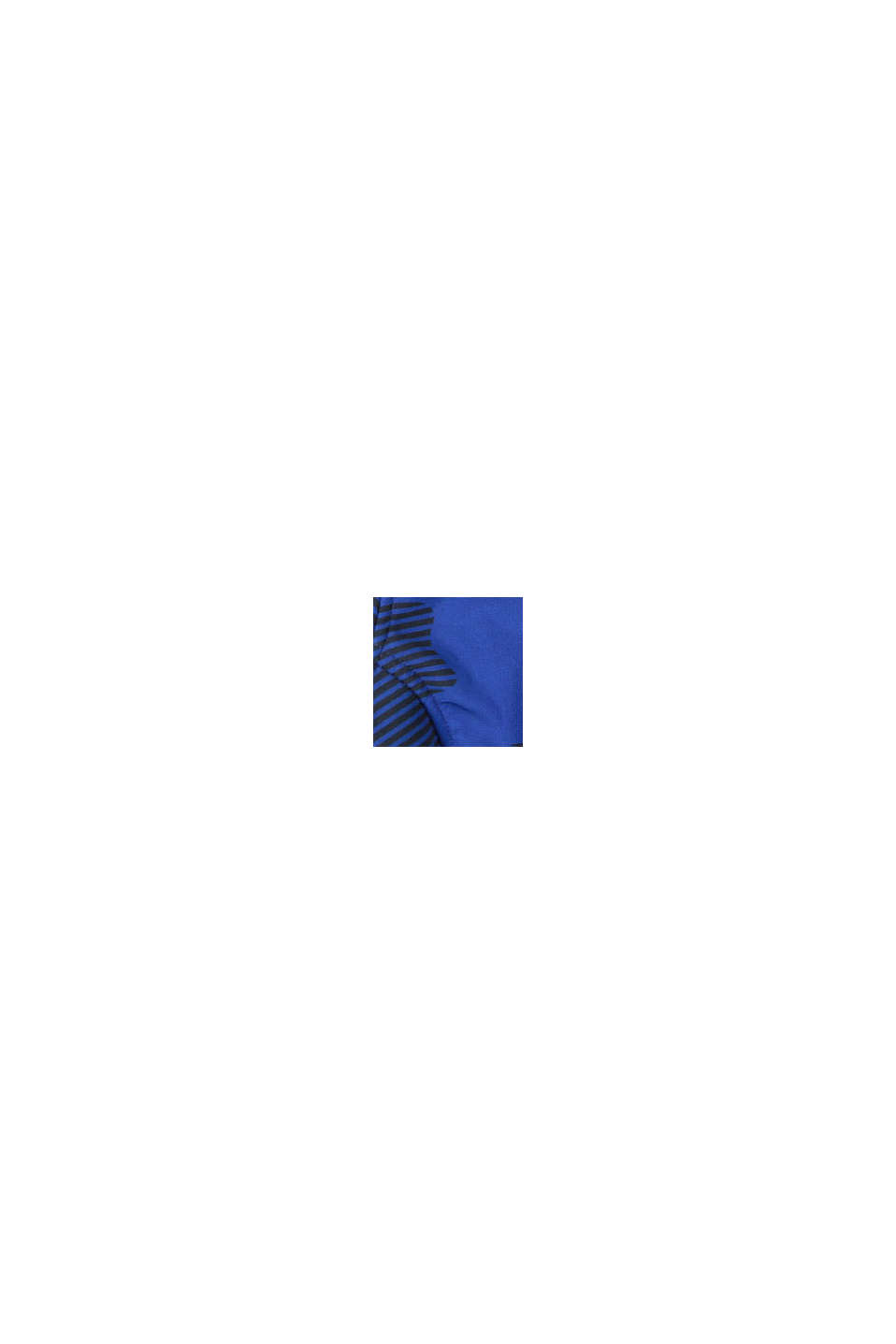 Softshell jas met print, BRIGHT BLUE, swatch