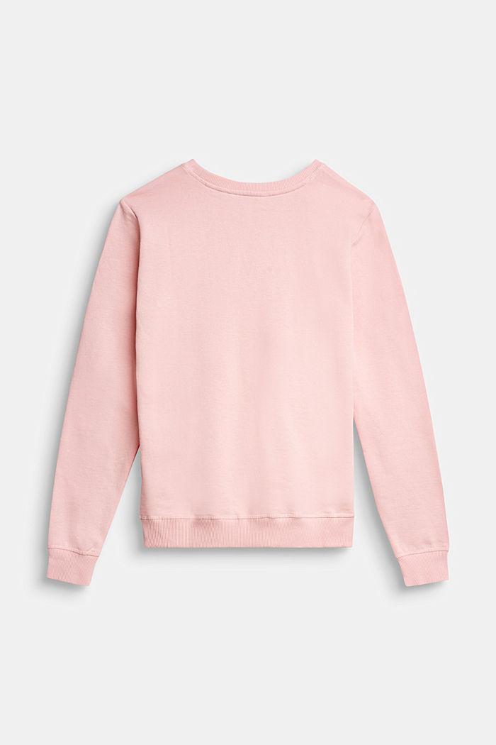 Sweatshirt aus 100% Baumwolle