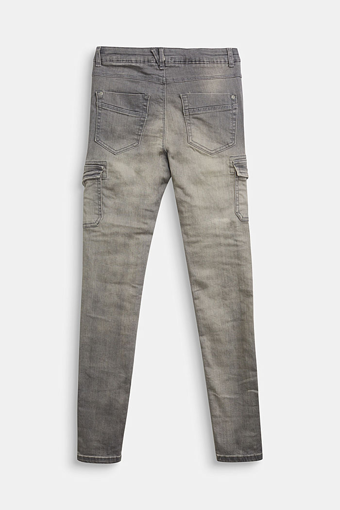 Jeggings with cargo pockets