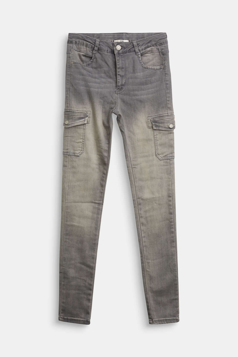 Esprit - Jeggings with cargo pockets