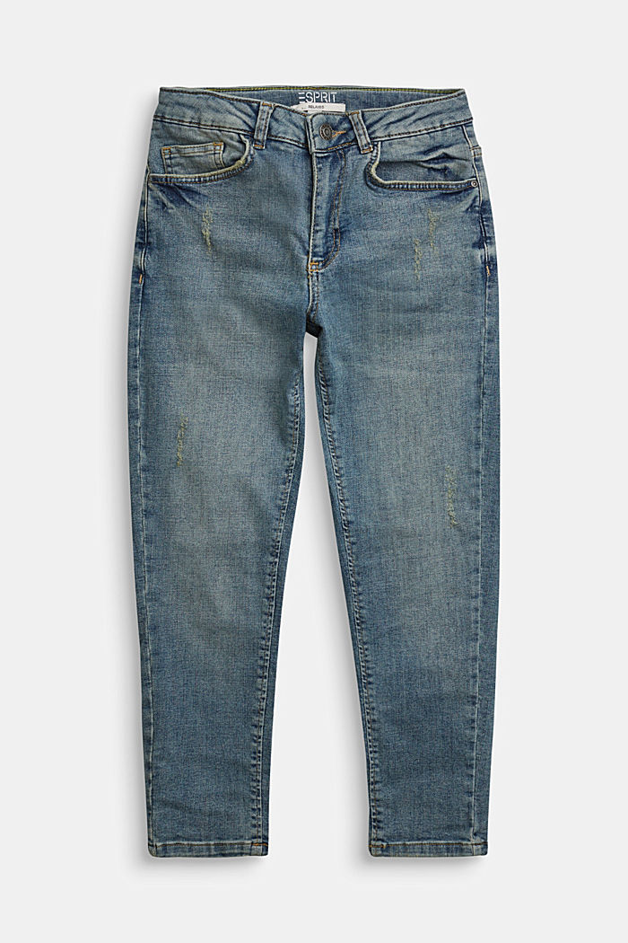 Jeans in a vintage look with an adjustable waistband