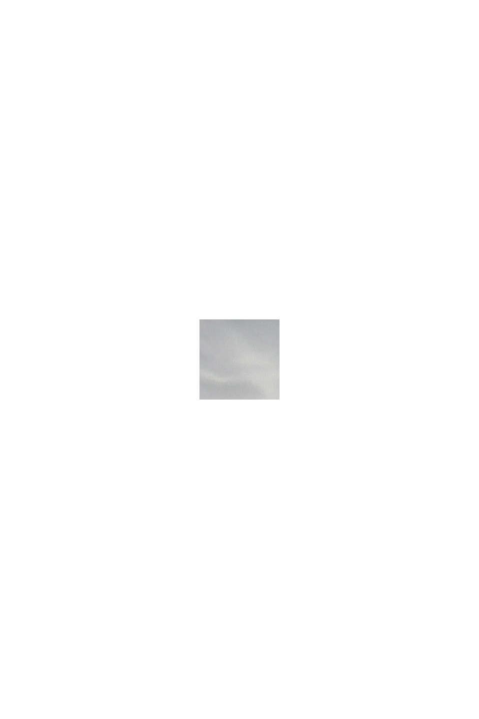 Quiltad jacka med färgblock, PASTEL GREY, swatch