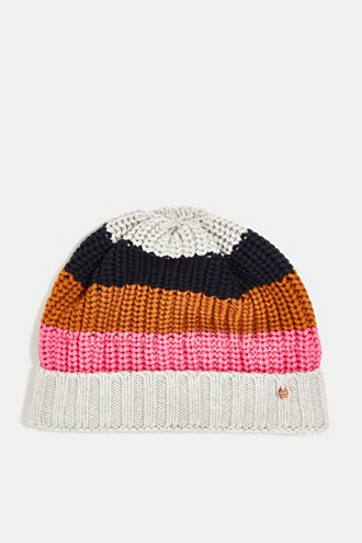 Beanie made of blended cotton
