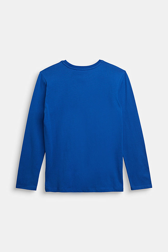 Jersey long sleeve top made of 100% organic cotton