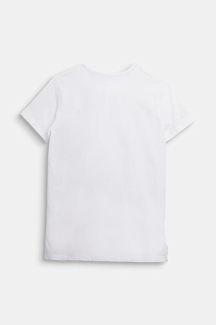 Henley T-shirt made of 100% cotton