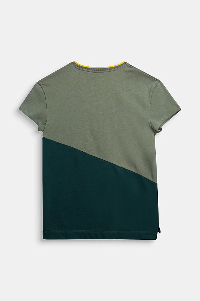 100% cotton T-shirt, DUSTY GREEN, detail image number 1