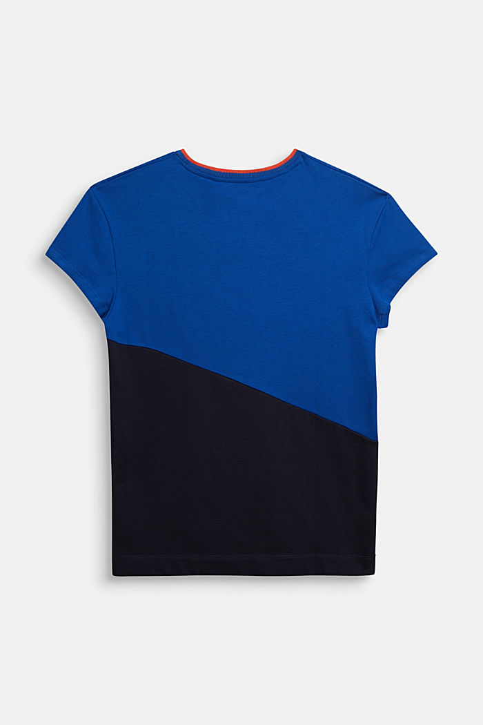 T-Shirt aus 100% Baumwolle, BRIGHT BLUE, detail image number 1