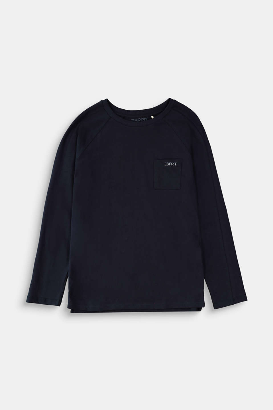Esprit - Statement long sleeve top made of 100% cotton